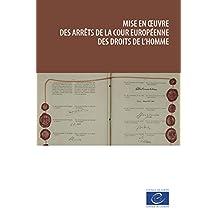 Mise en oeuvre des arrêts de la Cour européenne des droits de l'homme (French Edition)