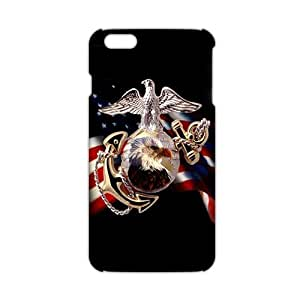 diy zhengCool-benz US Flag bald eagle 3D Phone Case for iPhone 6 Plus Case 5.5 Inch