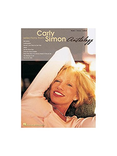Selections From Carly Simon Anthology. Partitions pour Piano, Chant et Guitare(Boîtes d'Accord) Hal Leonard