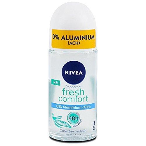 Nivea Fresh Comfort Aluminum Free 48h Deodorant Roll-On 50 ml/1.7 fl oz 50149