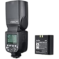 Godox V860II Flash Speedlite for Nikon DSLR with Wireless X System Flash Light with LCD Display