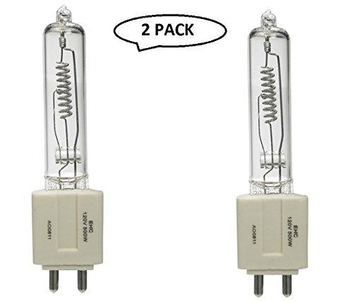 Impact EHC Lamp (500W, 120V) 2 Pack