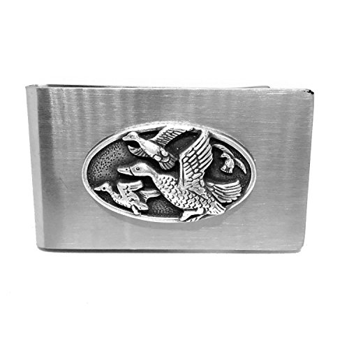 Duck Hunting Money Clip – Cigar Cutters by Jim Money Clip