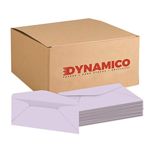 #10 Orchid Pastel Color Business Envelopes | Colored Standard Mailers | Value Pack of 500 per Pack | 4 1/8 x 9 1/2 Inches