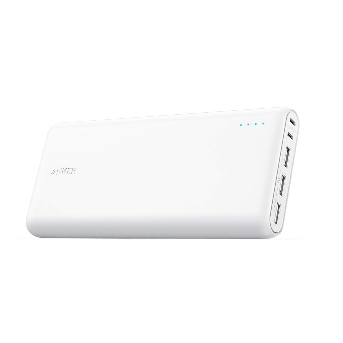 Anker PowerCore 26800 Portable Charger, 26800mAh External Battery with Dual Input Port and Double-Speed Recharging, 3 USB Ports for iPhone, iPad, Samsung Galaxy, Android and OtherDevices(Renewed) by Anker