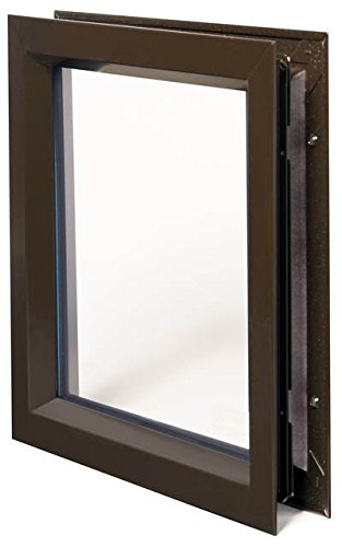 National Guard LFRA100DKBPYRANFGT11824X32 L-FRA100DKB-Pyranf-GT118 Linchese Kit Dark BRZ 24 x 32'' , 22'' Height, Vinyl by National Guard