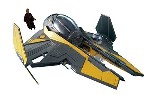 Revell Anakin's Jedi Starfighter Plastic Spacecraft Model Building Kit - Revell Monogram Star