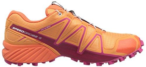 Speedcross nasturtium pink Da bird Ya Of Salomon 000 Donna 4 Trail Running Paradise Scarpe Arancione dgdAq
