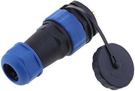 Almencla 3ピン 防水 コネクタ SP28 電源プラグ 25A 電源ケーブル コネクタ
