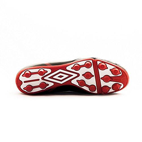 Umbro Umbro Classico 4 Hgr - Zapatilla para hombres, color negro / blanco / vermillion, talla 45