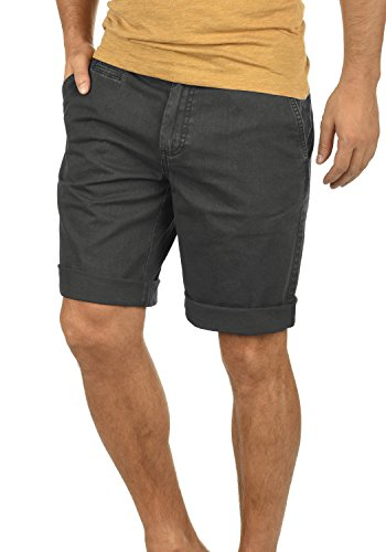 Chino Bermuda Grey Coupe Régulaire 2890 Homme Court Coton solid Dark 100 Short Viseu Pantalon 1zxqESn