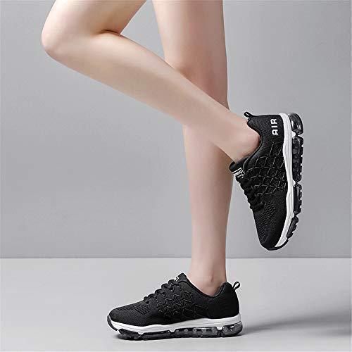 Air Jogging Course Plein Sport 0black Hommes Les En De Entraneurs Absorbant Baskets Chaussures Femmes Athltique Respirant Monrinda Fitness wp6XFx7