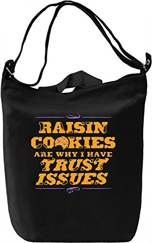 Raisin Cookies Borsa Giornaliera Canvas Canvas Day Bag| 100% Premium Cotton Canvas| DTG Printing|