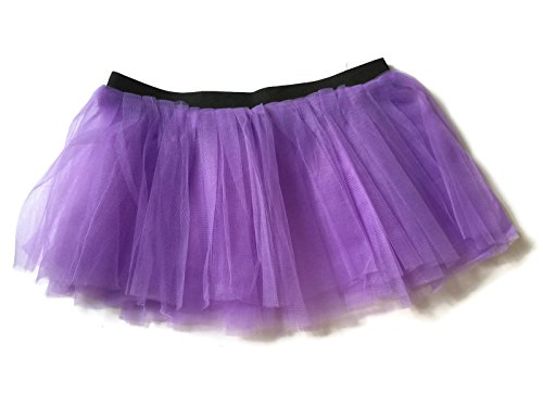 Rush Dance Running Skirt Teen or Adult Princess Costume Runners Rave Race Tutu (Lavender) (Dirty Dancing Halloween Costumes)