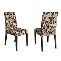 Conjunto 2 Cadeiras 4128 Madesa Tabaco