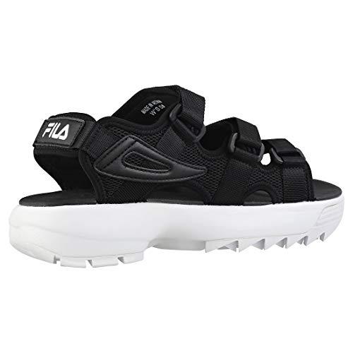 Fila Disruptor Negro Sandal Niña Sandalias S6qSfH