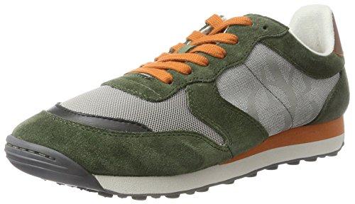 Marc OPolo 70724083501302, Sneaker Uomo Grün (Oliv Multi)