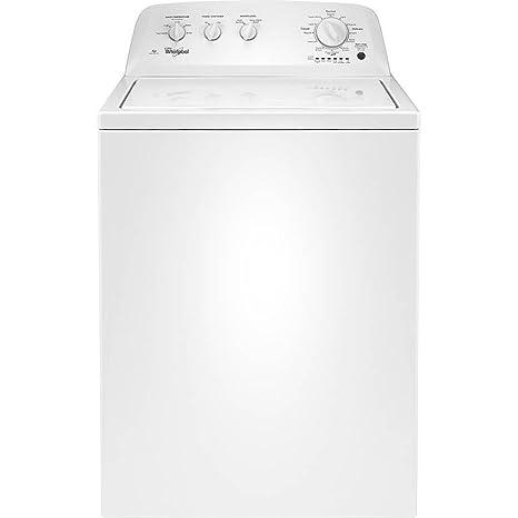 Whirlpool Washer With Agitator >> Amazon Com Whirlpool Wtw4616fw 3 5 Cu Ft White Top Load Washer