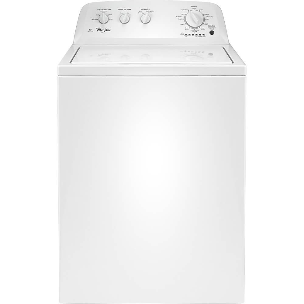 Whirlpool WTW4616FW 3.5 Cu. Ft. White Top Load