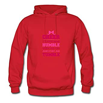 If Cheerleading Was Easy Customized X-large Hoody Women Cotton For Red