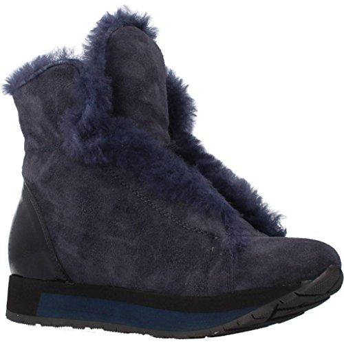 Botas para mujer, color Azul , marca MANAS, modelo Botas Para Mujer MANAS 162M2202E1X Azul Azul