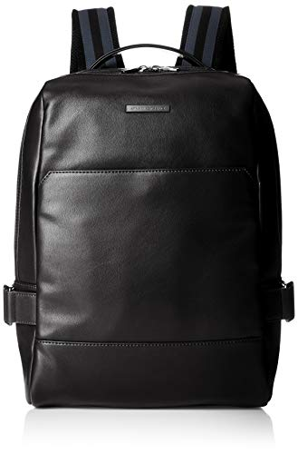 A X Armani Exchange Men s Faux Leather Plated Logo Backpack