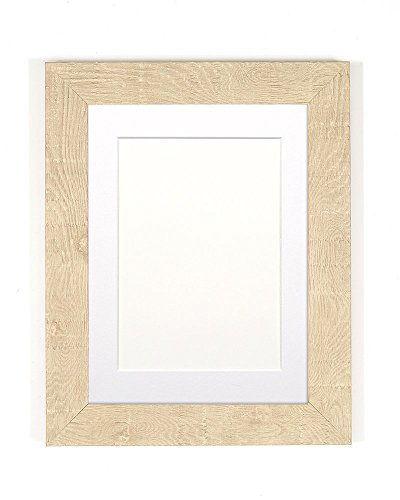 Paintings Frames Shabby Chic Rustic/Wood Grain Picture Frame Photo Frame Poster Frame Natural White Mount 12