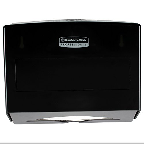Kimberly-Clark Professional 09215 Scottfold Towel Dispenser, Plastic, 10 3/4w x 4 3/4d x 9h, Smoke (Multi Dispenser compare prices)