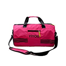 Swim Bag Travel Sports Gym Bag Waterproof with Dry Wet Area Shoes Compartment