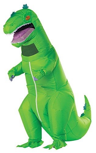 UHC Rugrats Reptar Inflatable Jumpsuit Funny Theme Party Halloween Fancy Costume, OS