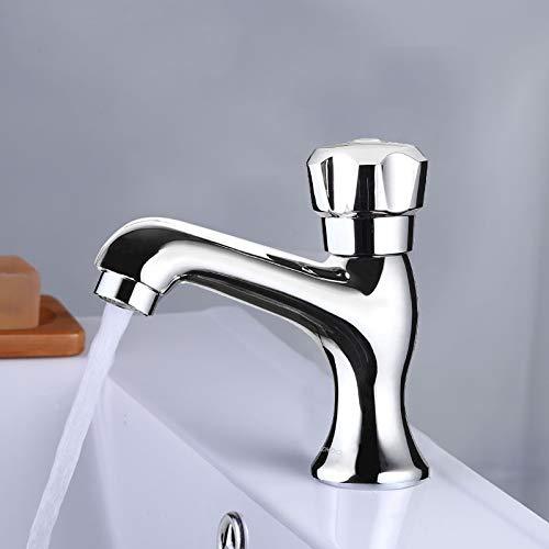 Zhcmy Faucet Copper Open Open Single Cold Cold Cold Cold Single Hole Basin Faucet Single Faucet 4062a9
