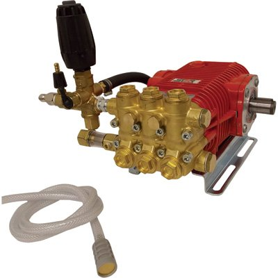 NorthStar Easy Bolt-On Super High Flow Pressure Washer Pump - 3000 PSI, 5.0 GPM, Belt Drive, Model# A1572042 by NorthStar
