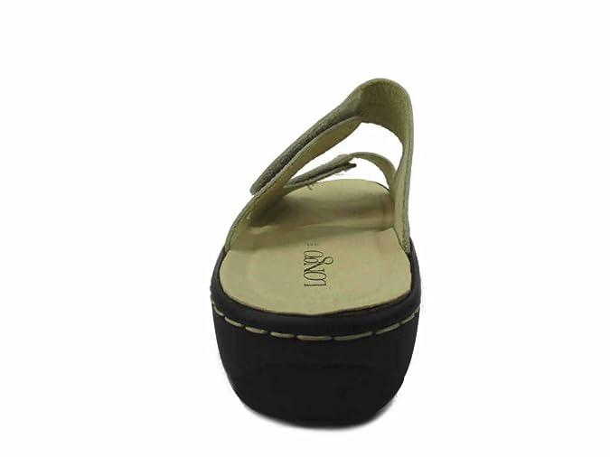 LONGO 1008861, Mules pour Femme - Marron - marron,