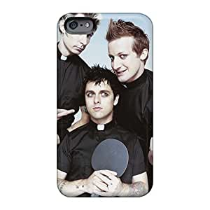 Shock-Absorbing Hard Cell-phone Cases For Iphone 6 (Ppy10221FIUo) Custom HD Green Day Pictures