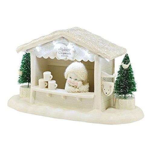Department 56 Snowbabies Classics Chubby Chipmunk Cocoa Figurine, 5.2