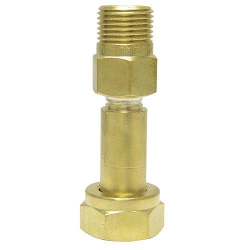 Uniweld f brass adaptor from cga quot b tank to