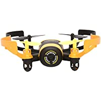 Chinatera RC Quadcopter JXD 512V Quadcopter Toy With 0.3MP Camera Headless Mode for Christmas Gift(Yellow)