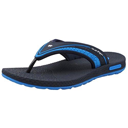 Gold Pigeon Shoes GP5842 Unisex Flip Flops: 8502 Blue, (Width Mens Shoes)