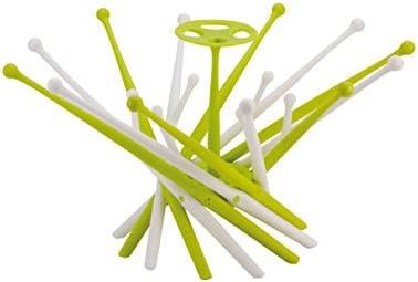 SARO – Escurridor portátil y plegable para biberones, extractores y chupetes. Soporte para escurrir biberones, con diseño divertido en forma de árbol ...
