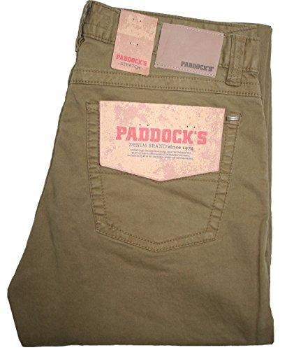 Paddocks - Jeans - Jambe droite - Uni - Homme Beige Beige -  Beige - 38W/L30