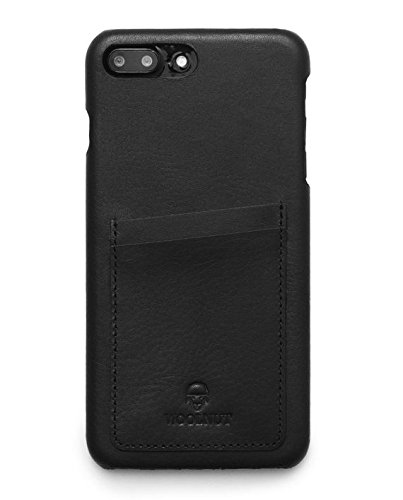 new product f9987 03933 Amazon.com: Woolnut Wallet Case for iPhone 7/8 - Black: Cell Phones ...