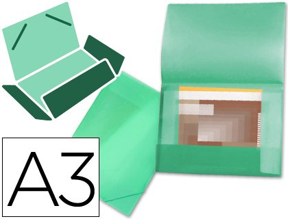 Liderpapel SS18 Portfolio A3 Green for sale  Delivered anywhere in USA