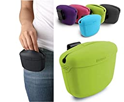DEXAS Popware POOCH POUCH Clip-on Treat Holder Dog Obedience Training Bag Random Color
