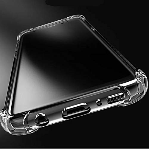 Ankirant Back Cover for Samsung Galaxy S6 Edge TPU; Rubber/Transparent
