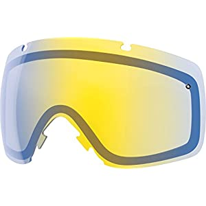 Smith I/OX Replacement Goggle Lens Yellow Sensor 2, One Size