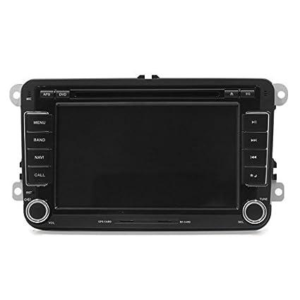 eDealMax 7 HD Stereo Radio 2 DIN Wince multimedias del coche DVD GPS Para Volkswagen