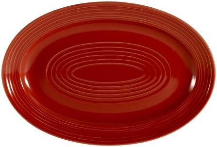 Amazon.com: cac China Tango Plato Oval, Porcelana: Kitchen ...