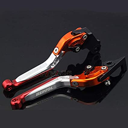 Palancas de embrague de freno extensibles y plegables para Honda CBR600RR 2003-2006 CBR 954 RR 2002 CNC 2003