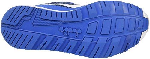 Neck Opt Blue Sneaker Campanula Adults' Arrowhead Blu Unisex Black Diadora Low N9000 White Y0q4yw