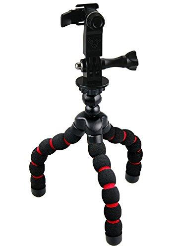 Armor-X Flexible Mini Tripod Black+Red